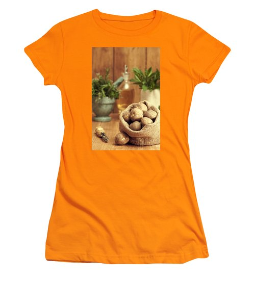 Potatoes Women's T-Shirt (Athletic Fit)