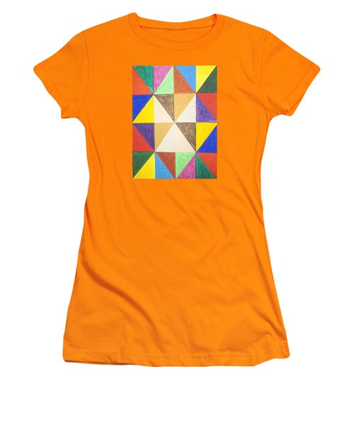 Pyramids 2 Women's T-Shirt (Athletic Fit)