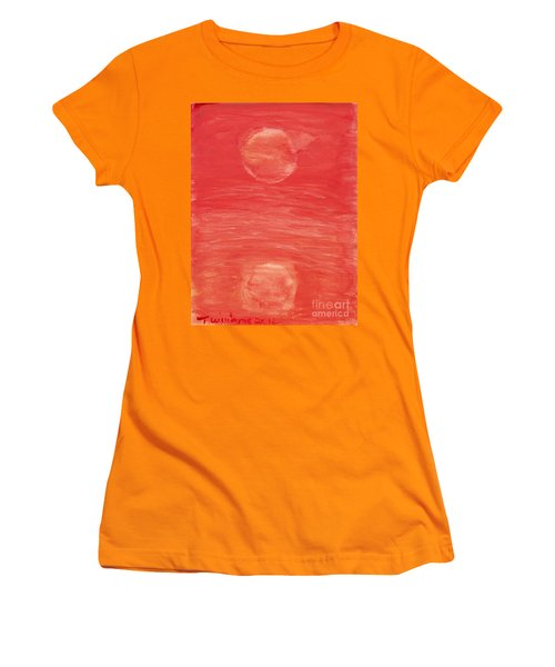 Reflections Of Pain Women's T-Shirt (Junior Cut) by Tracey Williams