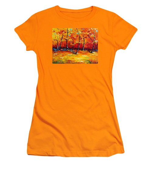 Resting In Your Shadow Women's T-Shirt (Athletic Fit)