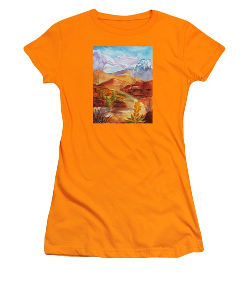 Road To Nowhere Women's T-Shirt (Athletic Fit)