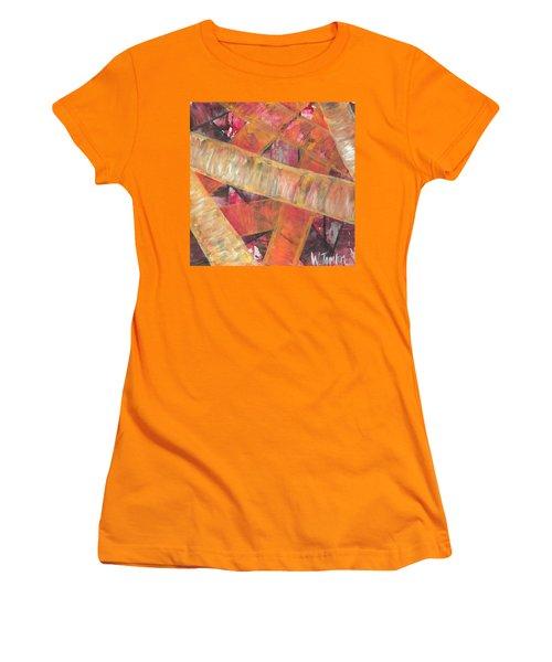 'romans Chapter Eight Vs Twenty Eight' Women's T-Shirt (Athletic Fit)
