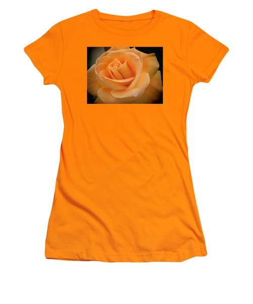 Women's T-Shirt (Junior Cut) featuring the photograph Rose by Laurel Powell