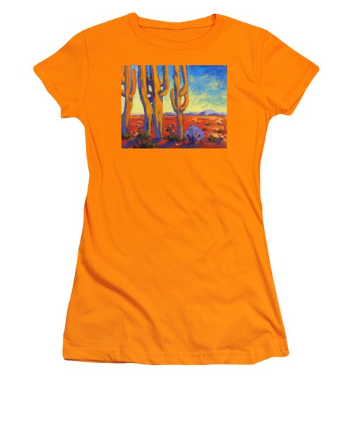 Saguaro 2 Women's T-Shirt (Athletic Fit)