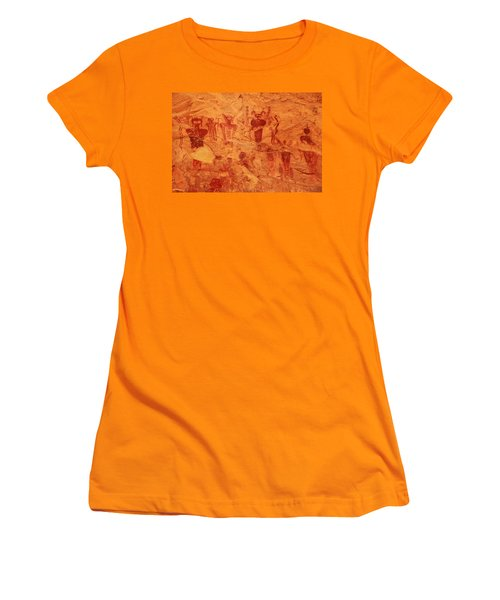 Sego Canyon Rock Art Women's T-Shirt (Athletic Fit)