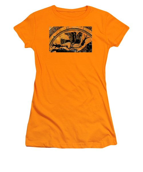 Siren With Lotus Buds - Detail No. 1 Women's T-Shirt (Athletic Fit)