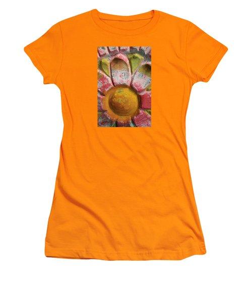 Skc 0008 Scraped Paint Women's T-Shirt (Junior Cut) by Sunil Kapadia