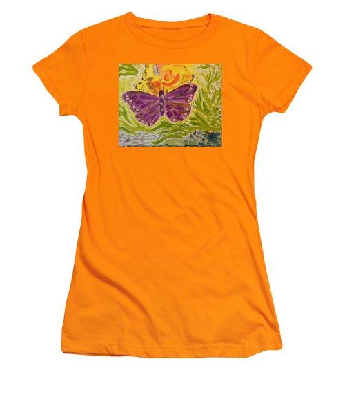 Soft Flutters Women's T-Shirt (Athletic Fit)