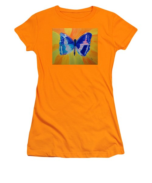 Spreading My Wings Women's T-Shirt (Athletic Fit)