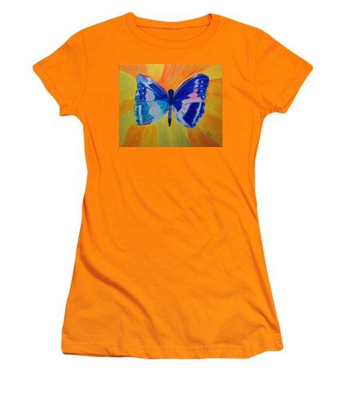 Spreading My Wings Women's T-Shirt (Junior Cut) by Meryl Goudey