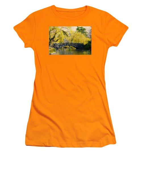 Springtime In Victoria Women's T-Shirt (Athletic Fit)