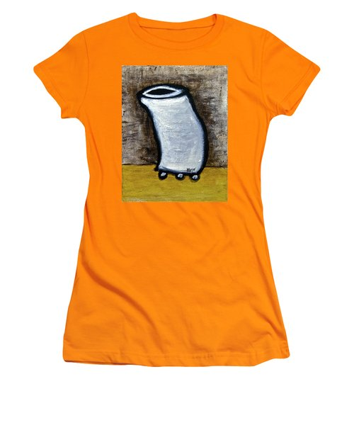 Women's T-Shirt (Junior Cut) featuring the painting Stills 10-003 by Mario Perron