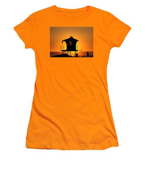 Women's T-Shirt (Junior Cut) featuring the photograph Sunburst by Tammy Espino