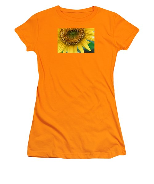 Sunflower Smiles Women's T-Shirt (Athletic Fit)