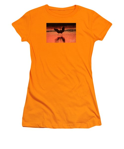 Sunset Dancer Women's T-Shirt (Athletic Fit)