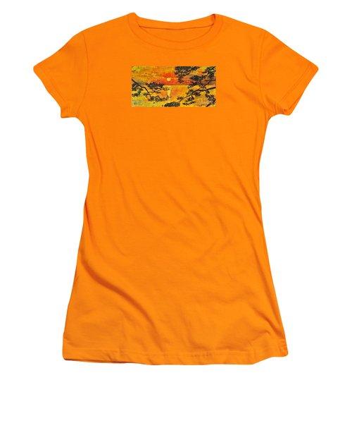 Sunset For My Parents Women's T-Shirt (Junior Cut) by Teresa Wegrzyn
