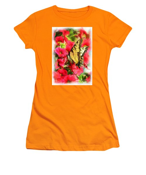 Sweet Swallowtail Women's T-Shirt (Athletic Fit)