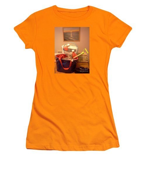 Take Me To The Beach Women's T-Shirt (Junior Cut) by Stacy C Bottoms