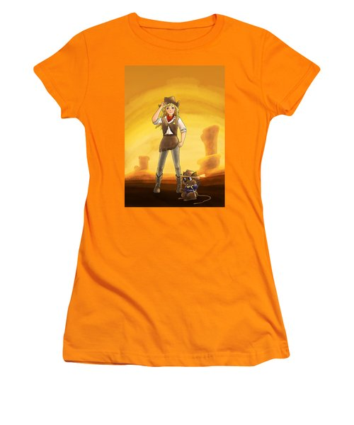 Tammy And Alfred Tame The West Women's T-Shirt (Athletic Fit)