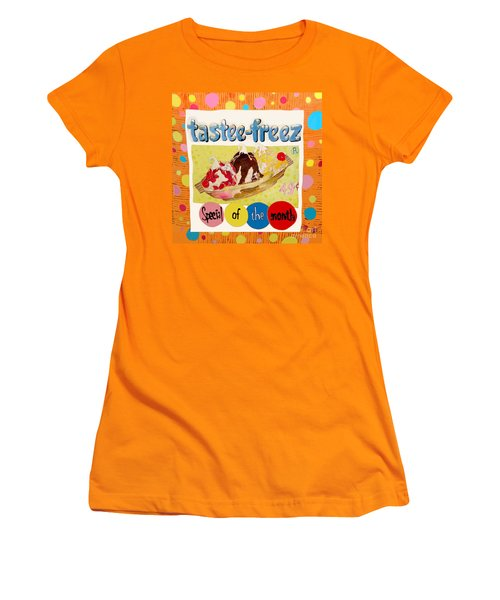 Tastee Freez Women's T-Shirt (Athletic Fit)