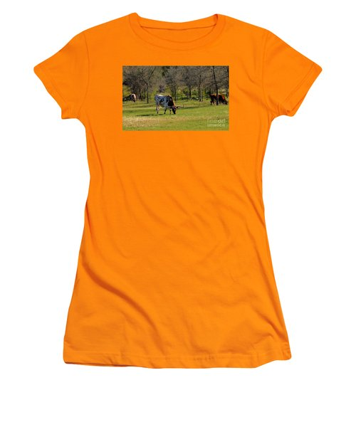 Texas Longhorns Women's T-Shirt (Athletic Fit)