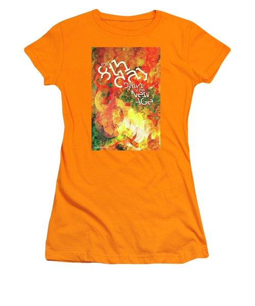 The Eighth Day Women's T-Shirt (Junior Cut) by Chuck Mountain