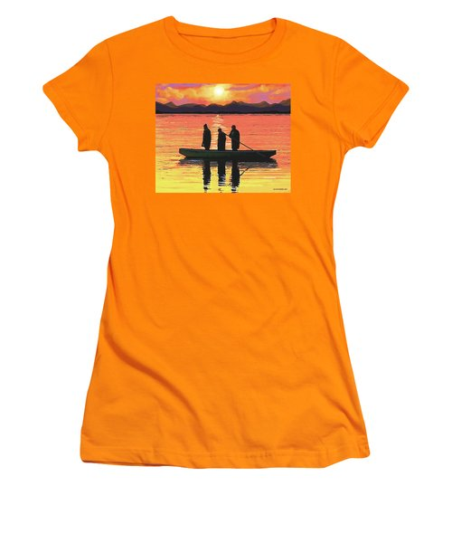 The Fishermen Women's T-Shirt (Athletic Fit)