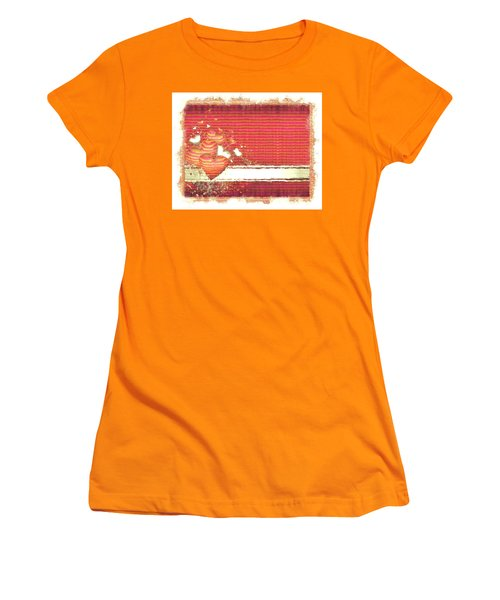The Heart Knows Women's T-Shirt (Junior Cut) by Liane Wright