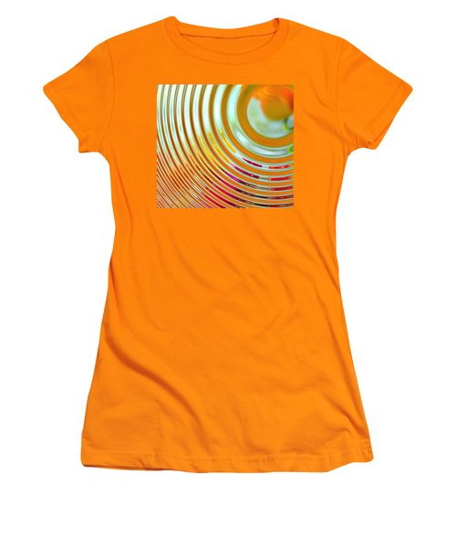 The Ripple Effect Women's T-Shirt (Junior Cut) by Mary Machare