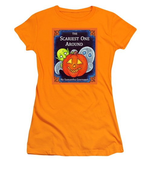 The Scariest One Around Women's T-Shirt (Athletic Fit)