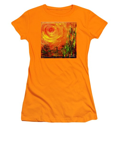The Sun At The End Of The World Women's T-Shirt (Athletic Fit)
