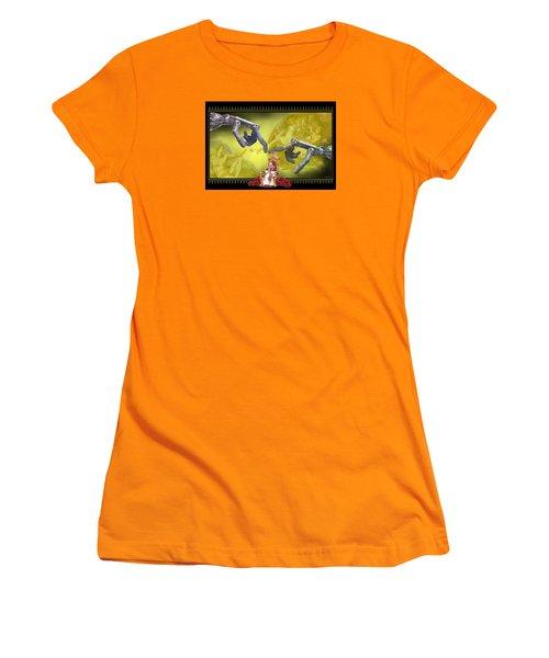 The Touch Women's T-Shirt (Junior Cut) by Scott Ross