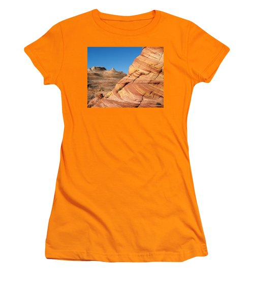 'the Wave' North Coyote Buttes 13 Women's T-Shirt (Athletic Fit)