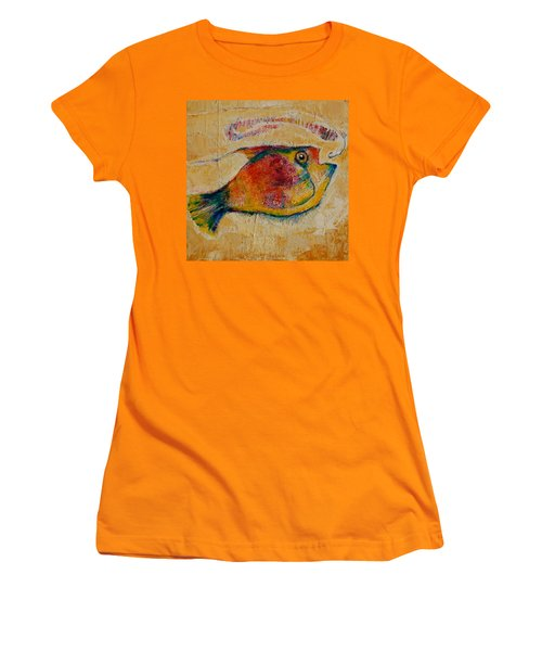 The Wrong Decision  Women's T-Shirt (Junior Cut) by Jean Cormier