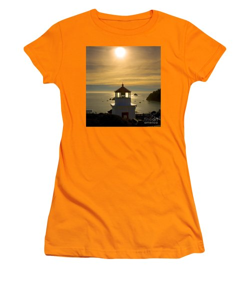 Trinidad Memorial Lighthouse Women's T-Shirt (Athletic Fit)