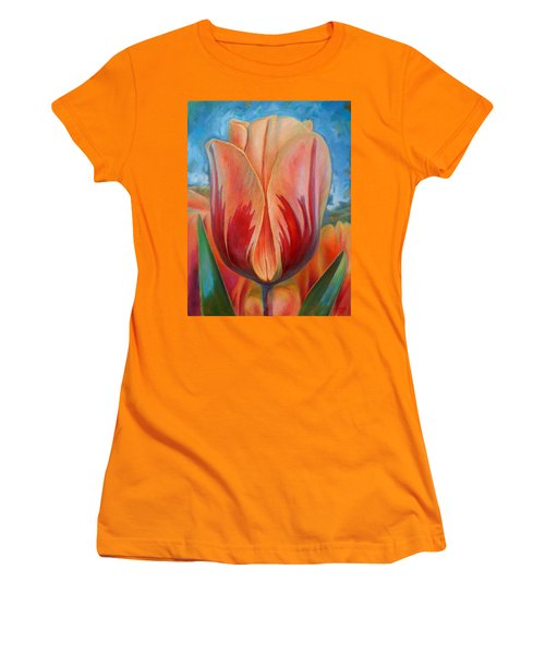 Tulip Women's T-Shirt (Junior Cut) by Hans Droog