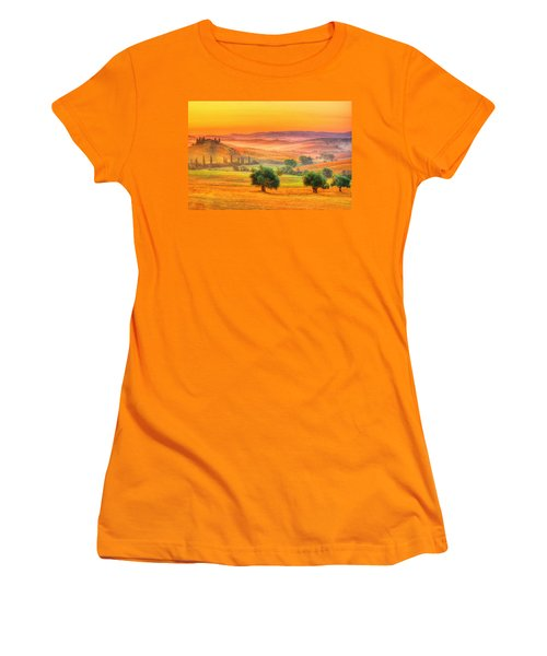 Tuscan Dream Women's T-Shirt (Athletic Fit)
