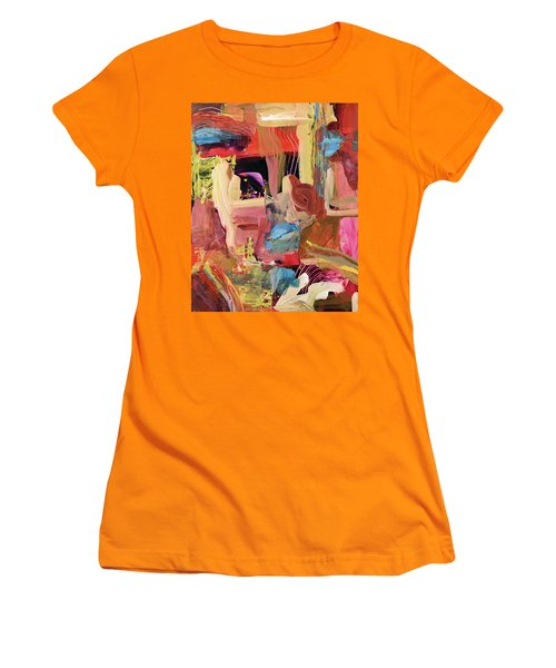 Untitled Abstract Women's T-Shirt (Athletic Fit)