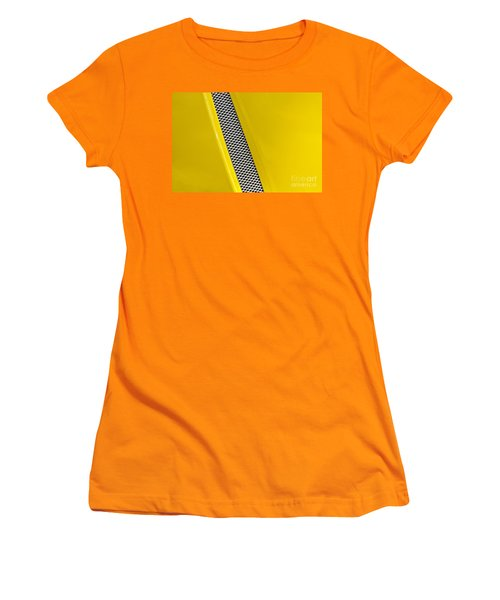 Women's T-Shirt (Junior Cut) featuring the photograph Vented by Linda Bianic