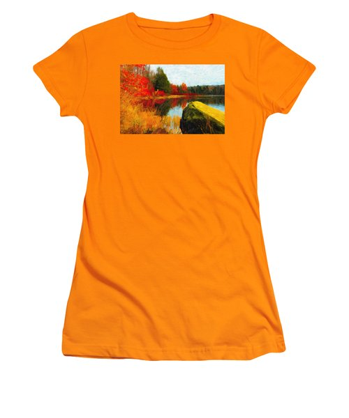 View From The Rock Women's T-Shirt (Athletic Fit)