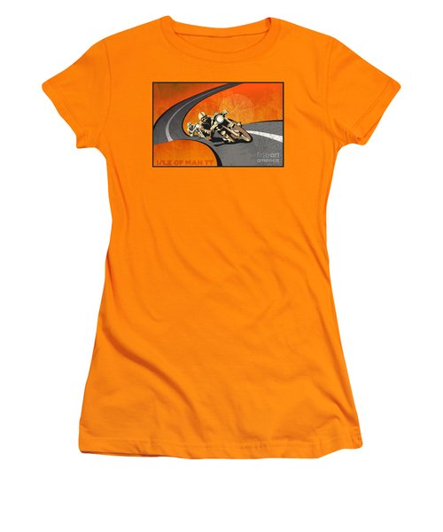 Vintage Motor Racing  Women's T-Shirt (Athletic Fit)