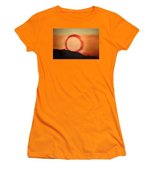 Women's T-Shirt (Junior Cut) featuring the photograph Wheel In The Sky by John Hansen