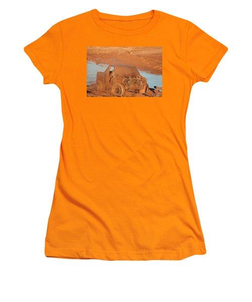Which Way Women's T-Shirt (Junior Cut) by David S Reynolds