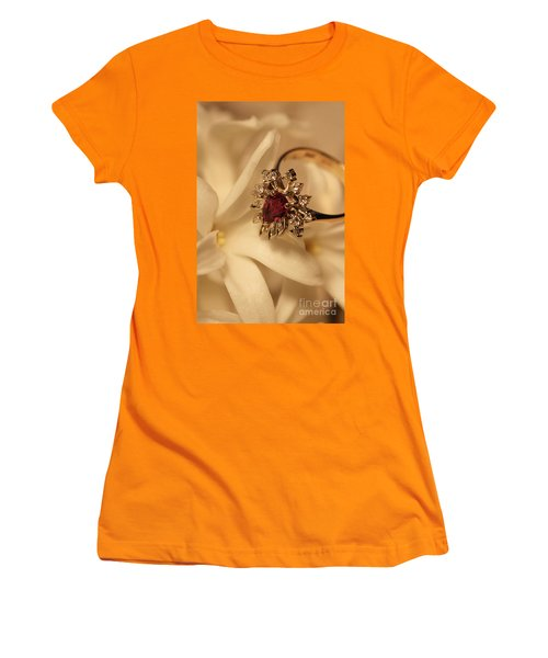 Women's T-Shirt (Junior Cut) featuring the photograph With Love by Joy Watson