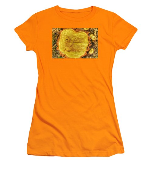 Wood Women's T-Shirt (Junior Cut) by Daniel Precht