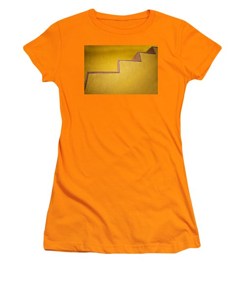 Yellow Steps Women's T-Shirt (Athletic Fit)