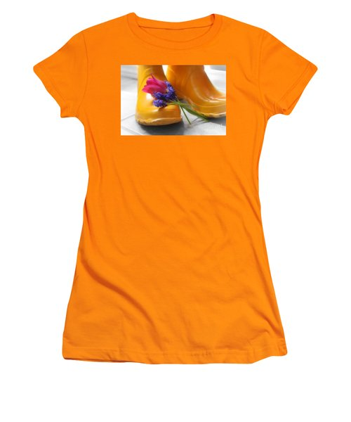 Spring Boots Women's T-Shirt (Athletic Fit)