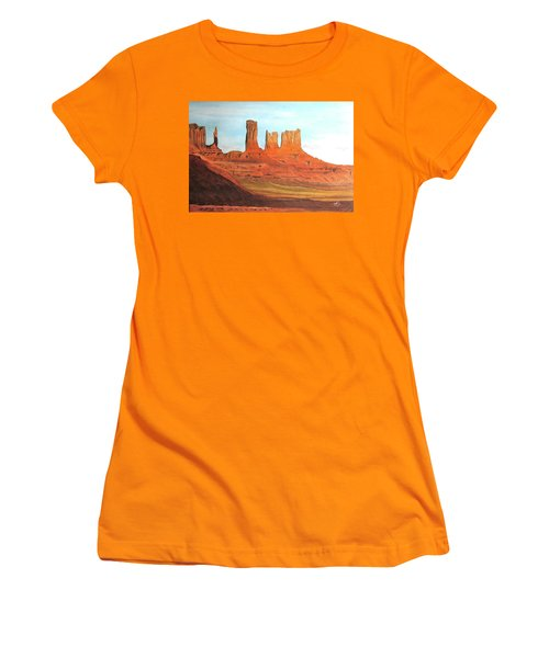 Arizona Monuments Women's T-Shirt (Athletic Fit)