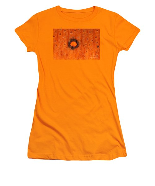 Skin Of Eastern Newt Women's T-Shirt (Junior Cut) by Ted Kinsman