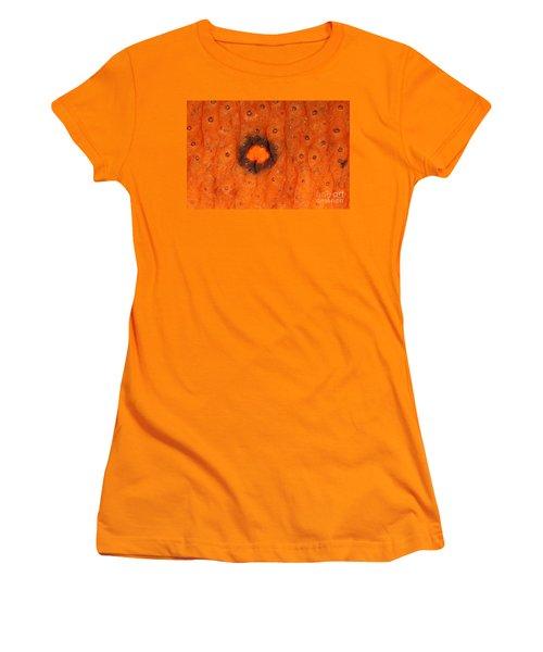 Skin Of Eastern Newt Women's T-Shirt (Junior Cut) by Ted Kinsman